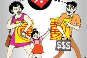 Luật chia tài sản chung và quyền nuôi con khi ly hôn